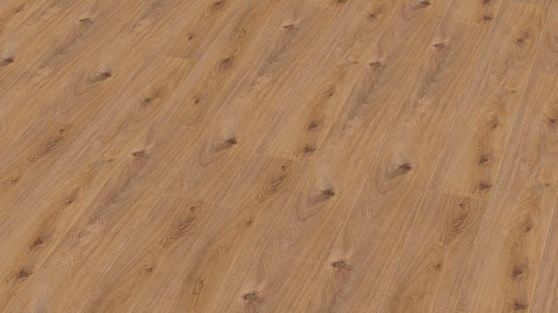 Laminat Kronotex Exquisit Prestige Eiche Hell Produktbild Musterfläche von oben grade zoom