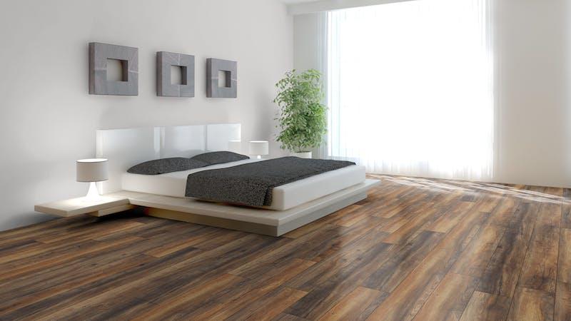 Laminat Kronotex Robusto Habour Oak Produktbild Schlafzimmer - Urban zoom