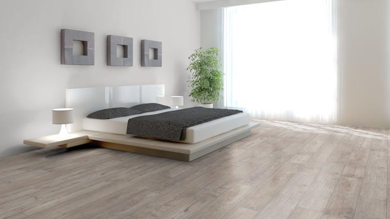 Laminat Kronotex Exquisit Nostalgie Teak Beige Produktbild Schlafzimmer - Urban zoom