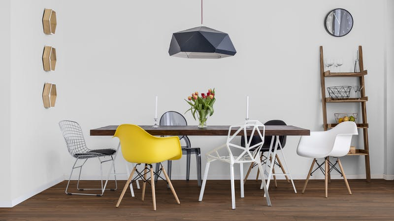 Laminat Kronotex Exquisit Nussbaum Toskana Produktbild Küche & Esszimmer - Modern mit Treppe zoom