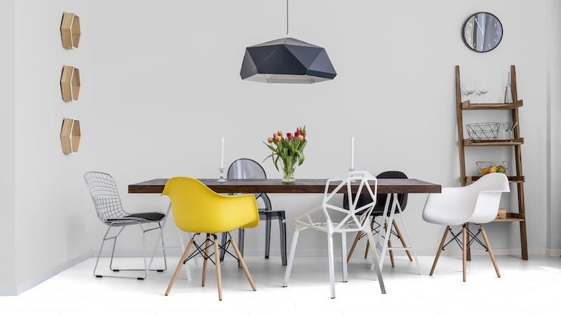 Laminat Falquon Glamour White Produktbild Küche & Esszimmer - Modern mit Treppe zoom
