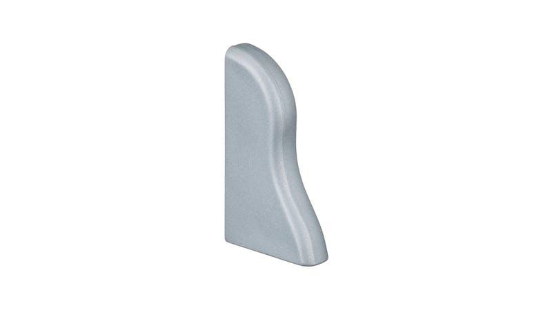 Endkappe links - Silber - 40 mm Produktbild
