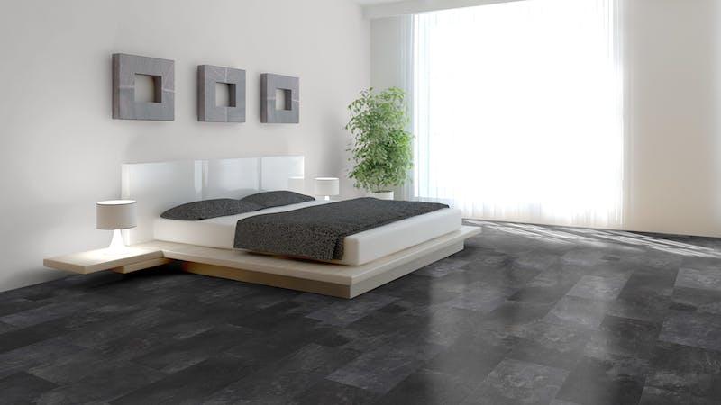 Laminat Classen Visiogrande Ölschiefer Produktbild Schlafzimmer - Urban zoom
