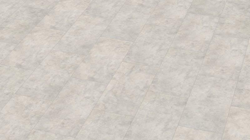 Laminat Classen Visiogrande Sichtestrich Weiß Produktbild Musterfläche von oben grade zoom