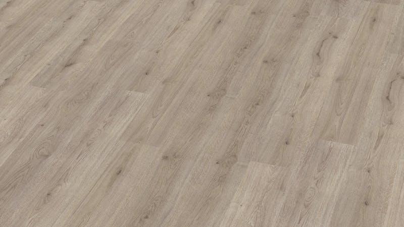 Laminat BoDomo Klassik Trend Oak Grau Produktbild Musterfläche von oben grade zoom