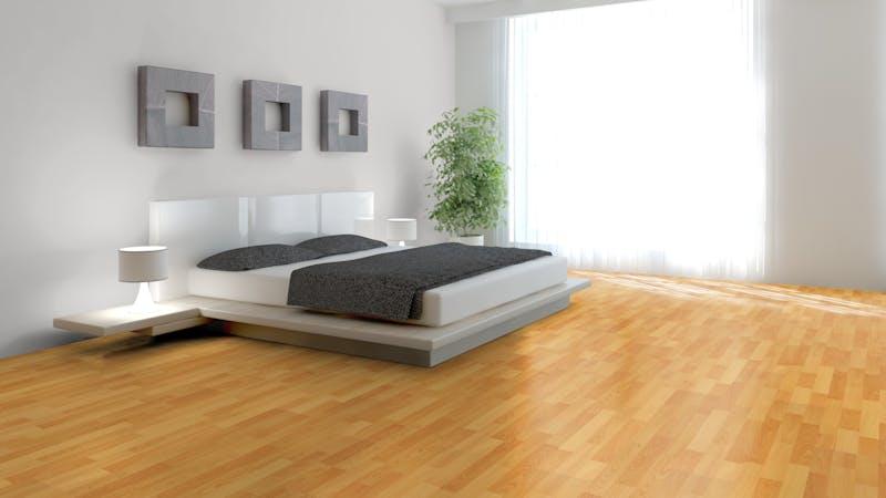 Laminat BoDomo Klassik Buche Produktbild Schlafzimmer - Urban zoom