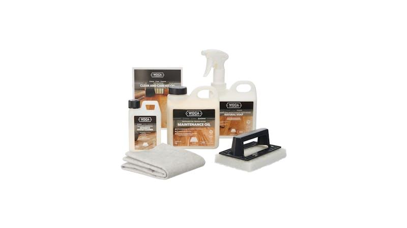 Parkett - Pflegebox mit Pflegeöl - Weiß Produktbild