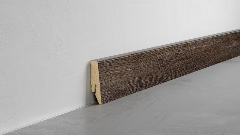 Fußleiste Exquisit - Smokey Pine - 58 mm Produktbild