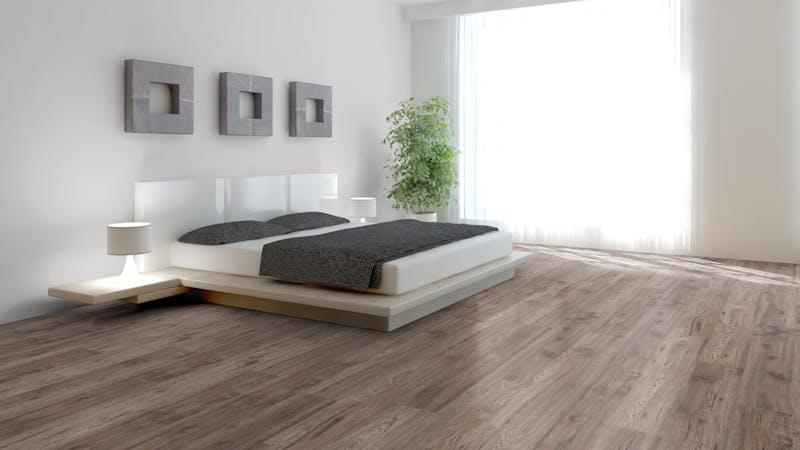 Laminat BoDomo Klassik Hickory Produktbild Schlafzimmer - Urban zoom