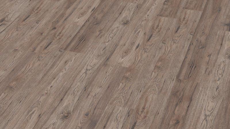 Laminat BoDomo Klassik Hickory Produktbild Musterfläche von oben grade zoom