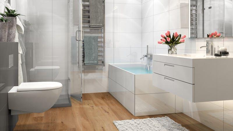Parkett BoDomo Exquisit Trento Produktbild Badezimmer - Klassisch zoom