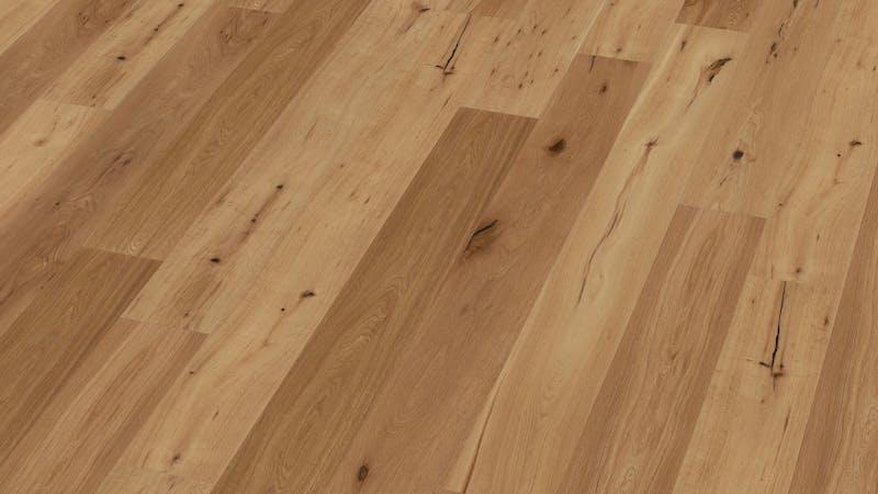 Parkett BoDomo Exquisit Trento Produktbild Musterfläche von oben grade zoom