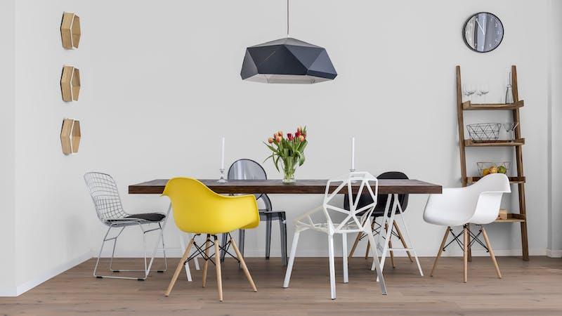 Parkett BoDomo Premium Veneto Produktbild Küche & Esszimmer - Modern mit Treppe zoom