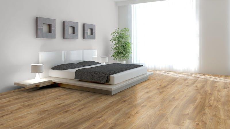 Laminat Kronotex Mammut Plus Makro Eiche Natur Produktbild Schlafzimmer - Urban zoom