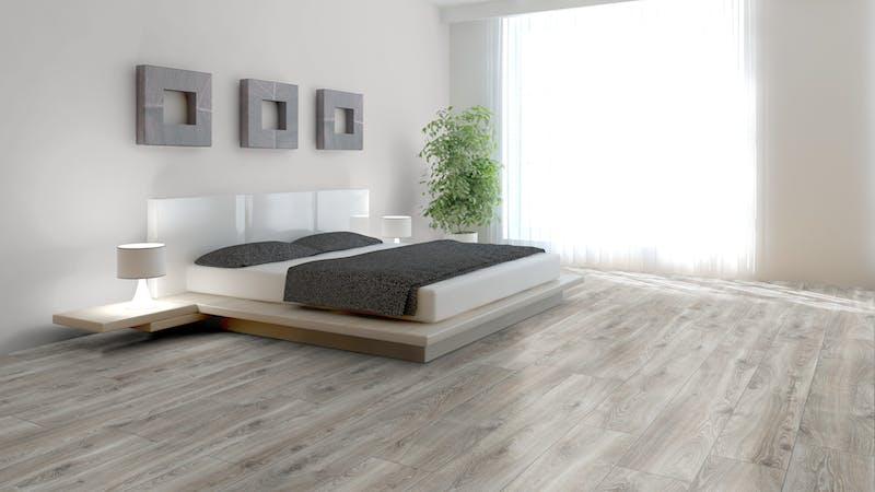 Laminat Kronotex Mammut Plus Highland Eiche Silber Produktbild Schlafzimmer - Urban zoom