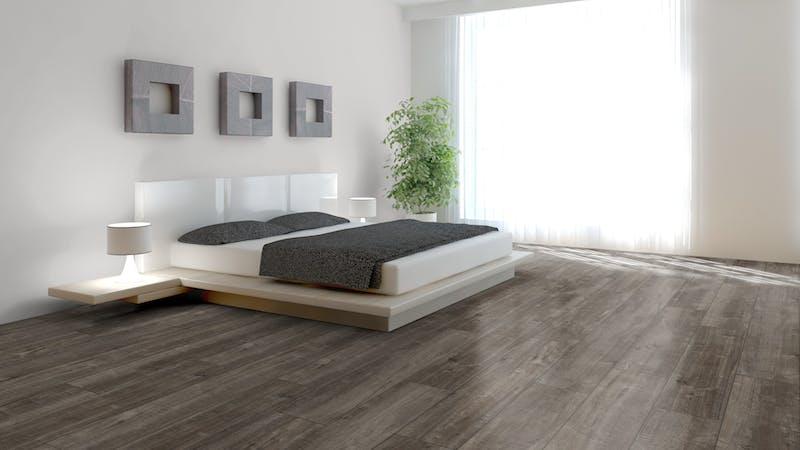 Laminat Kronotex Exquisit Plus Gala Eiche Titan Produktbild Schlafzimmer - Urban zoom