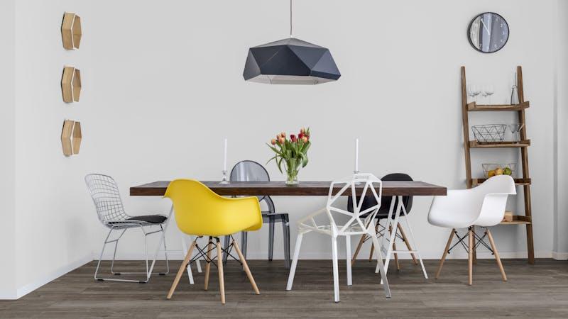 Laminat Kronotex Exquisit Plus Gala Eiche Titan Produktbild Küche & Esszimmer - Modern mit Treppe zoom