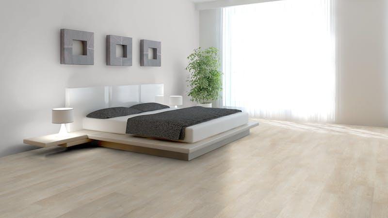 Klick-Vinyl BoDomo Exquisit Gletschereiche Weiß Produktbild Schlafzimmer - Urban zoom