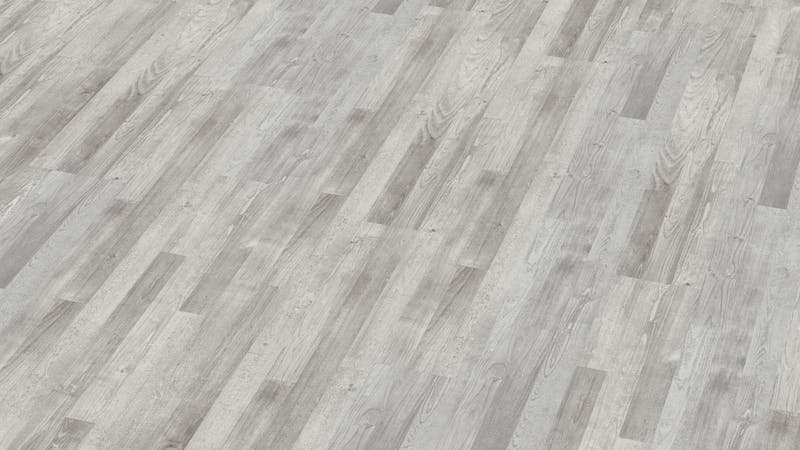 Laminat BoDomo Exquisit Pinie Weiß Produktbild Musterfläche von oben grade zoom