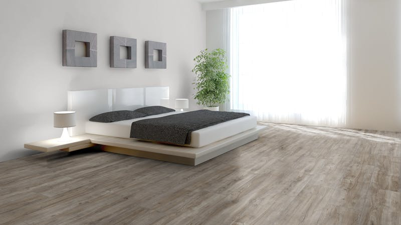 Laminat Kronotex Exquisit Plus Montmelo Eiche Silber Produktbild Schlafzimmer - Urban zoom
