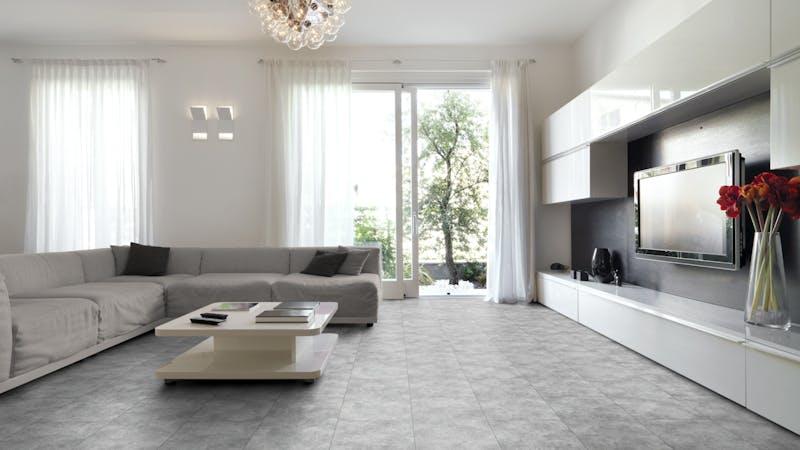 Laminat Falquon Glamour Solino Produktbild Wohnzimmer - Urban mit Wohnwand zoom