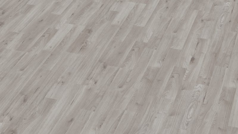 Laminat BoDomo Klassik Winter Eiche Grau Produktbild Musterfläche von oben grade zoom