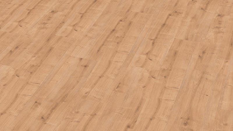 Laminat BoDomo Premium Eiche Chalete Produktbild Musterfläche von oben grade zoom