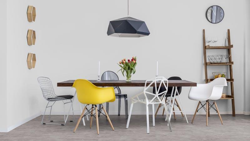 Laminat BoDomo Exquisit Eiche Ivory Produktbild Küche & Esszimmer - Modern mit Treppe zoom