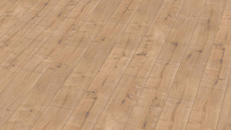 Laminat BoDomo Exquisit Eiche New England Produktbild Musterfläche von oben grade zoom