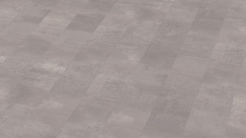 Laminat BoDomo Premium Beton Perlgrau Produktbild Musterfläche von oben grade zoom