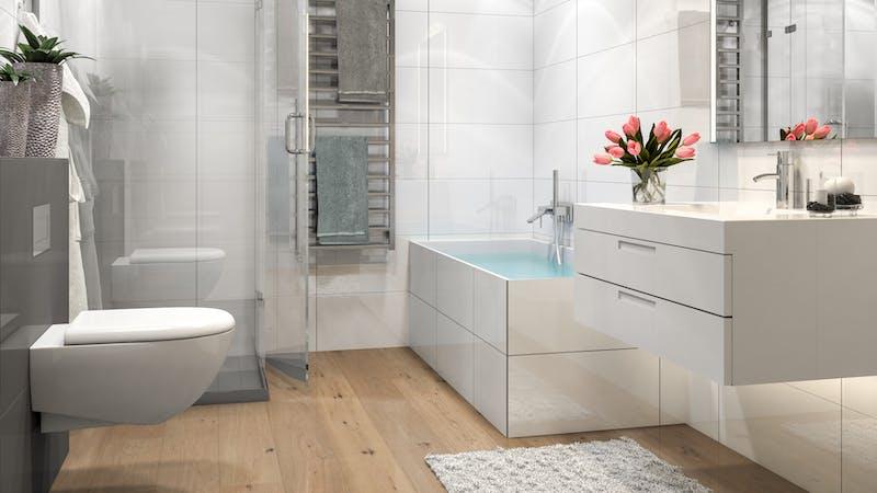 Parkett BoDomo Premium Genua Produktbild Badezimmer - Klassisch zoom