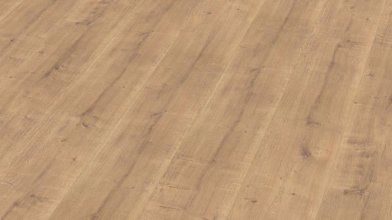Laminat BoDomo Premium Schlossdiele Natur Produktbild Musterfläche von oben grade zoom