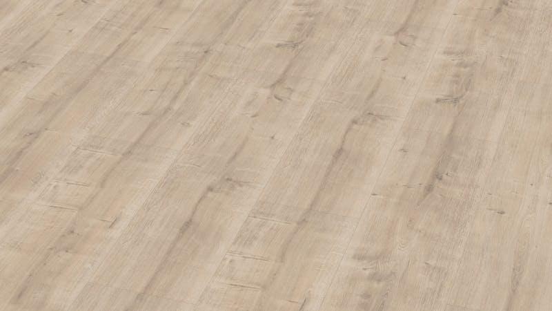 Laminat BoDomo Premium Schlossdiele Creme Produktbild Musterfläche von oben grade zoom