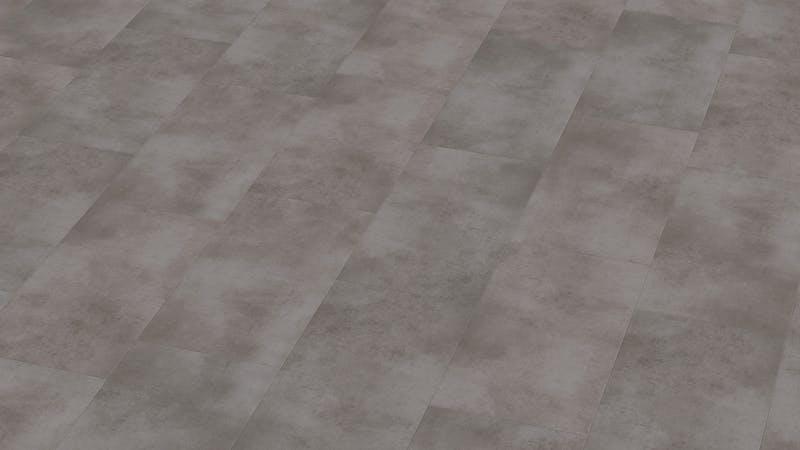 Klick-Vinyl BoDomo Exquisit Puro Grey Produktbild Musterfläche von oben grade zoom