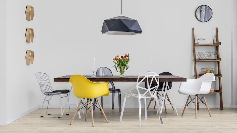 Laminat BoDomo Klassik Kreideeiche Produktbild Küche & Esszimmer - Modern mit Treppe zoom