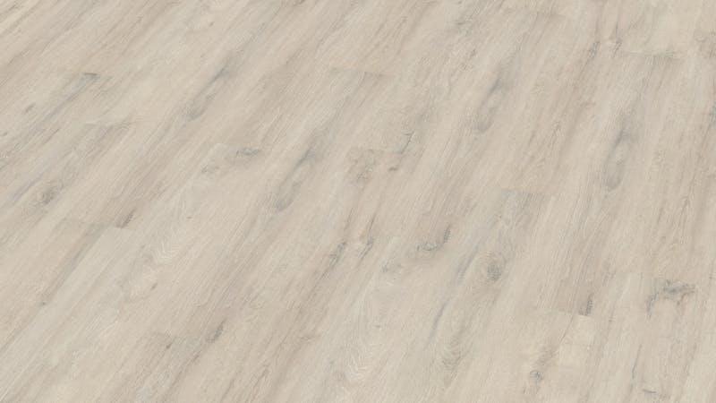 Laminat BoDomo Klassik Kreideeiche Produktbild Musterfläche von oben grade zoom