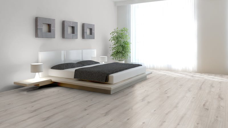 Laminat Kronoflooring MyArt Misty Plains Oak Produktbild Schlafzimmer - Urban zoom