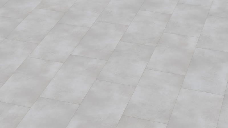 Klick-Vinyl BoDomo Exquisit Puro White Produktbild Musterfläche von oben grade zoom