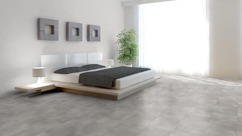 Klick-Vinyl BoDomo Exquisit Puro Silver Produktbild Schlafzimmer - Urban zoom