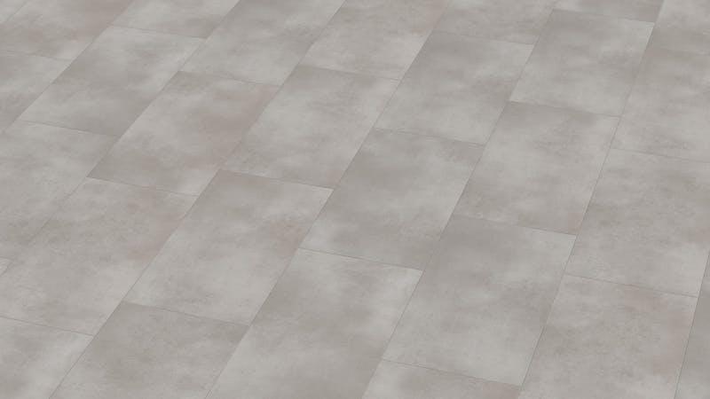 Klick-Vinyl BoDomo Exquisit Puro Silver Produktbild Musterfläche von oben grade zoom