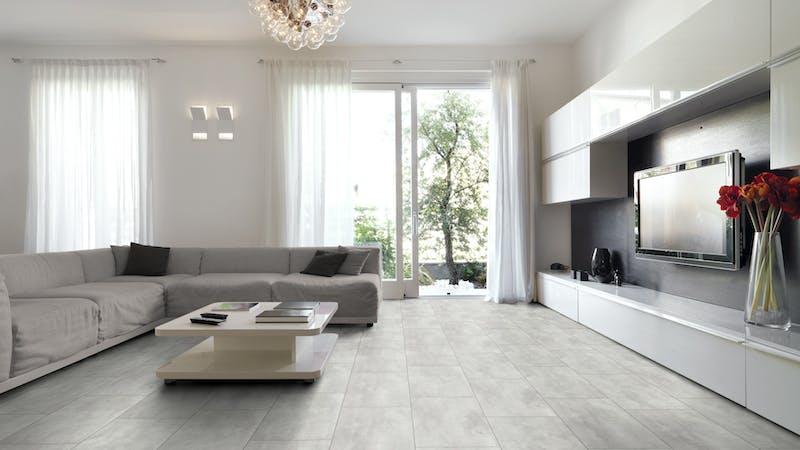 Multilayer BoDomo Exquisit Cloudy Stone Produktbild Wohnzimmer - Urban mit Wohnwand zoom