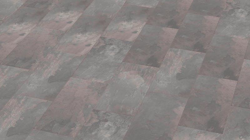 Laminat Classen Visiogrande Slate Clay Grey Produktbild Musterfläche von oben grade zoom