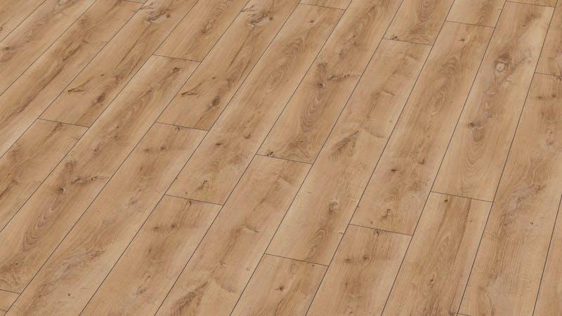 Laminat BoDomo Exquisit Eiche Tradition Produktbild Musterfläche von oben grade zoom