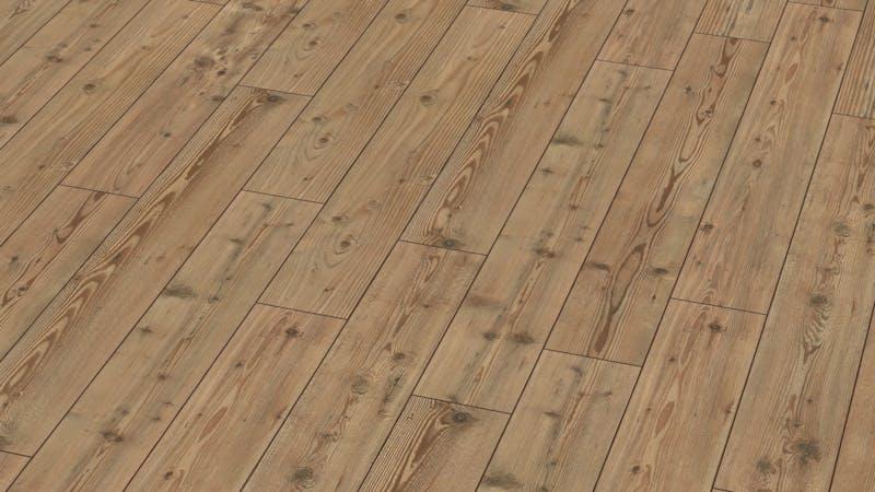 Laminat BoDomo Exquisit Steinkiefer Produktbild Musterfläche von oben grade zoom