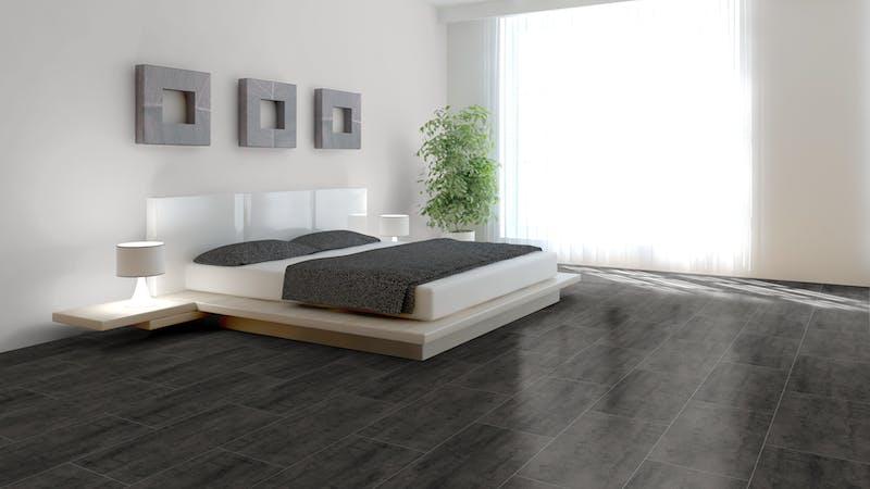 Laminat BoDomo Exquisit Virginia Black Produktbild Schlafzimmer - Urban zoom
