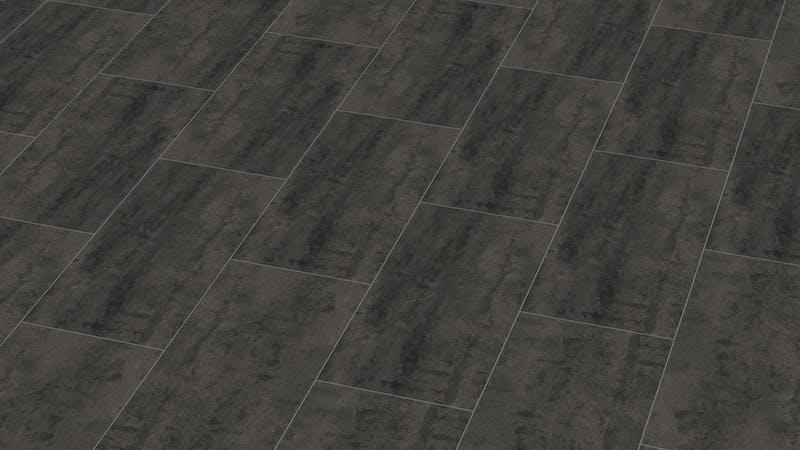 Laminat BoDomo Exquisit Virginia Black Produktbild Musterfläche von oben grade zoom