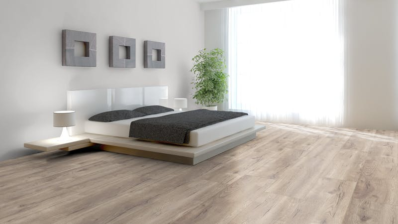Laminat BoDomo Premium Nordic Oak Produktbild Schlafzimmer - Urban zoom
