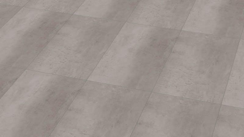 Klick-Vinyl Windmöller wineo 800 Raw Concrete Produktbild Musterfläche von oben grade zoom