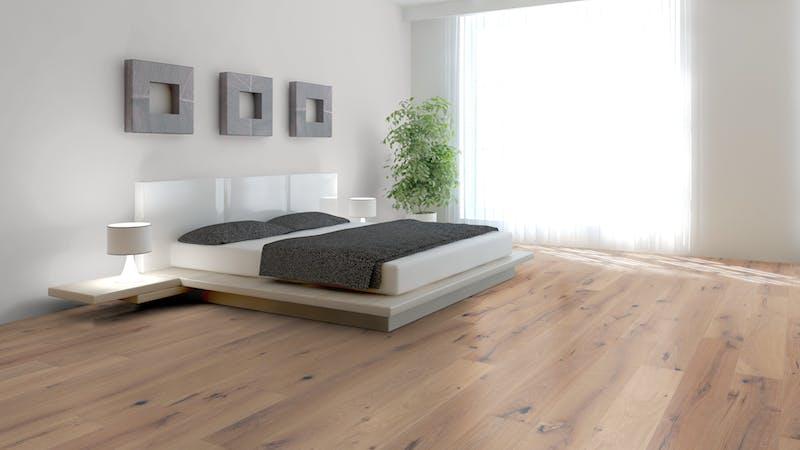 Parkett BoDomo Premium Elba Produktbild Schlafzimmer - Urban zoom