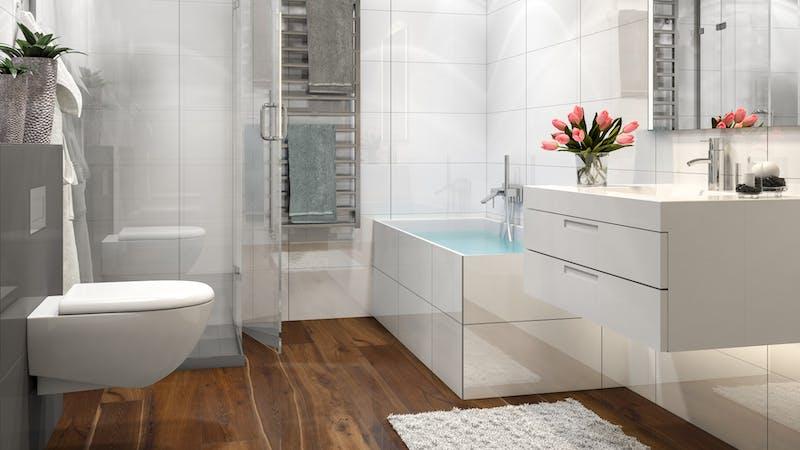 Parkett BoDomo Premium Neapel Produktbild Badezimmer - Klassisch zoom